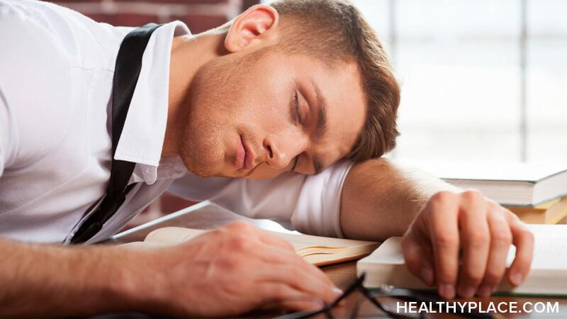 Hypersomnia is often confused with symptoms of mood and anxiety disorders. However, hypersomnia is not a psychiatric condition at all. Learn more about hypersomnia at HealthyPlace.