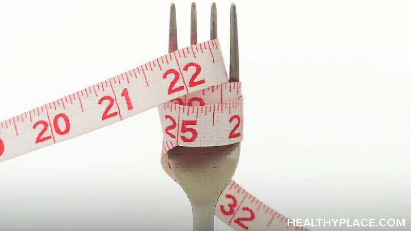tape measure around a fork