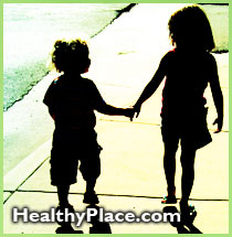 Excellent suggestions for coping with a sibling or parent with a mental illness.