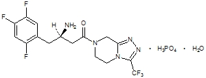 Januvia Chemical Structure