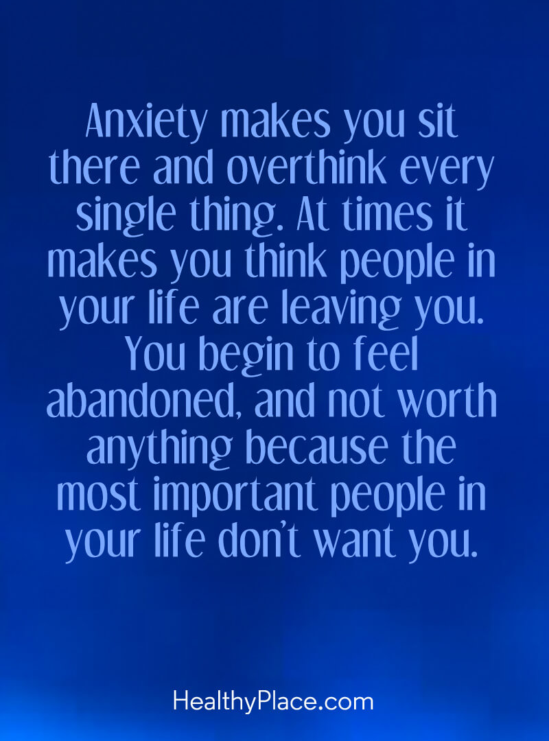 Quotes on Anxiety