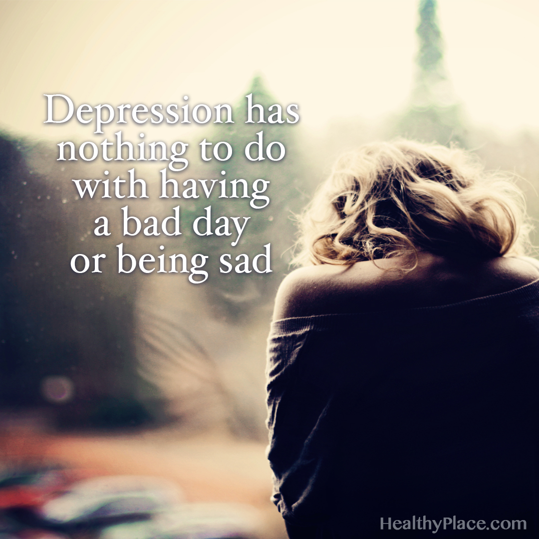 Sad Quotes About Depression: Depression Quotes And Sayings About Depression