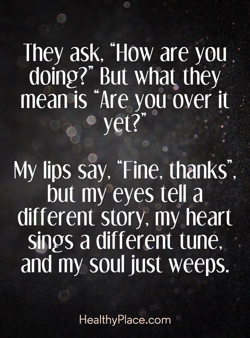 Best Depression Quotes Depression Quotes and Sayings About Depression | HealthyPlace Best Depression Quotes