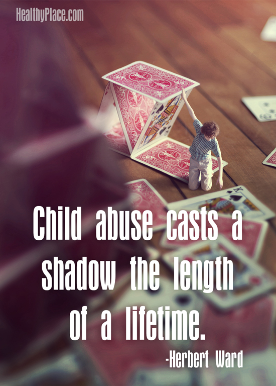 Child Abuse Quotes Impressive Quotes On Abuse HealthyPlace