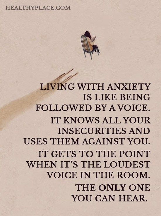 Quotes On Anxiety HealthyPlace Gorgeous Quotes To Help With Anxiety