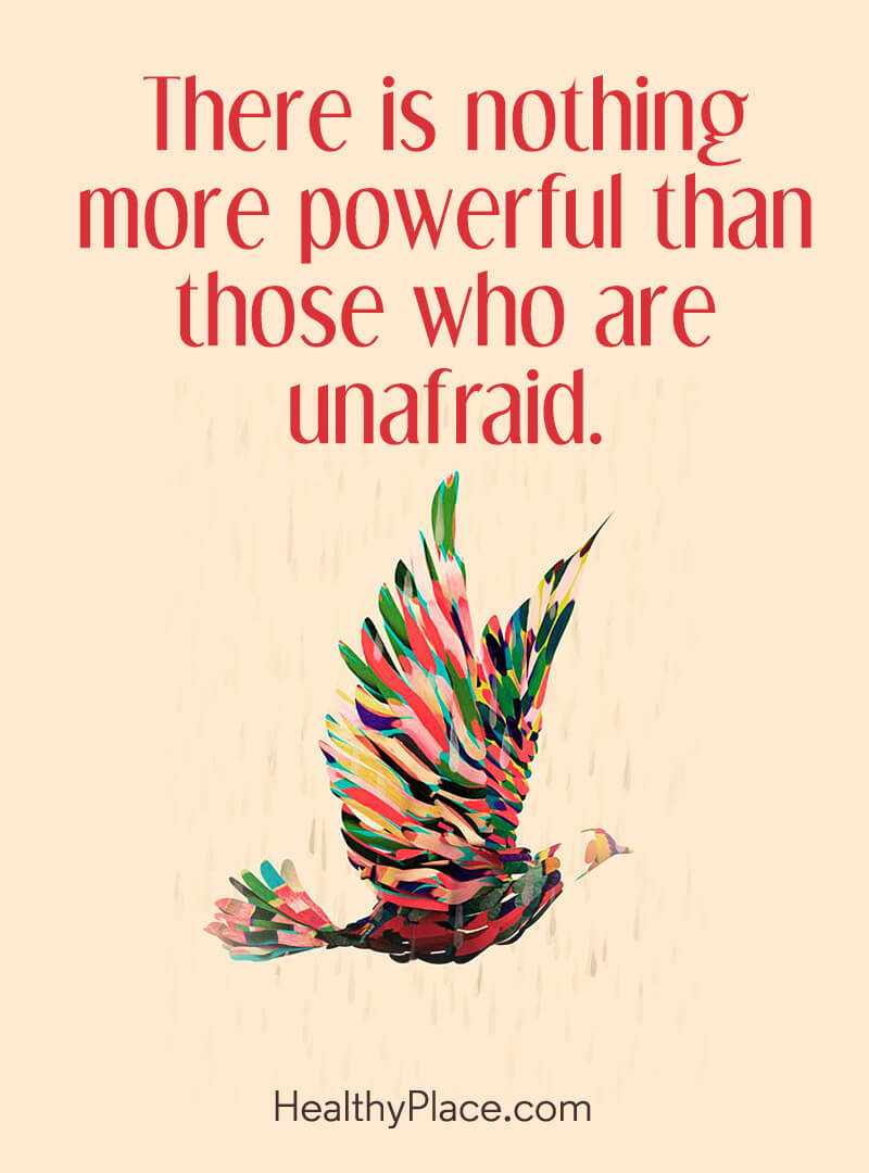 Self-confidence quote - There is nothing more powerful than those who are unafraid.