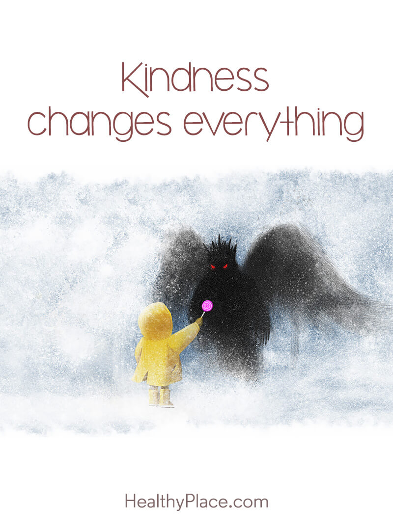 Quote about self-help - Kindness changes everything.