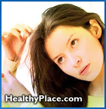 Trichotillomania, hair pulling disorder, definition. Trusted, detailed information on trichotillomania incl. signs, complications of hair pulling disease.