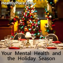 Mental Health Issues Over The Holidays
