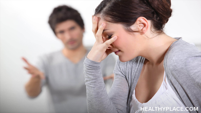 Verbal abuse, whether from others towards you or through your own negative self-talk, can be devastating to your self-esteem and mental health. Read more on HealthyPlace.
