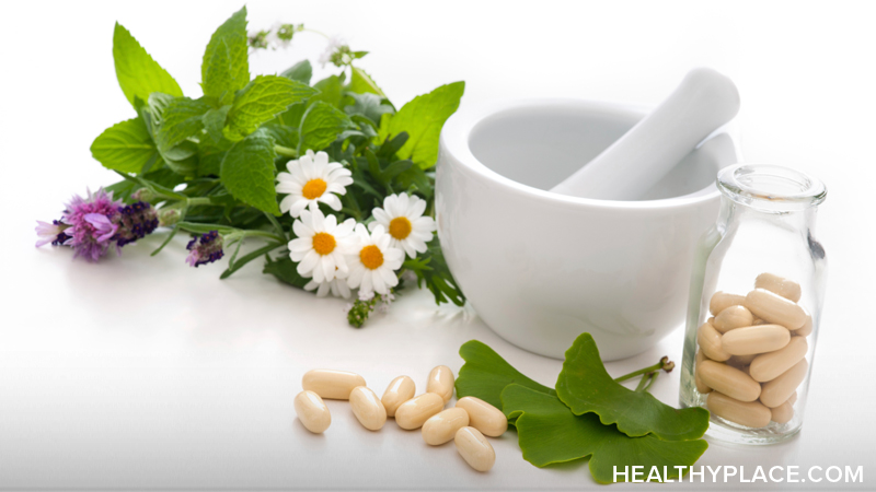 Learn about herbal treatments, herbal remedies for mental health conditions such as depression, anxiety, stress, Alzheimer's Disease, dementia and more.