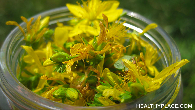 Overview of St. John's Wort as a natural treatment for depression and whether this herbal remedy works in treating depression.