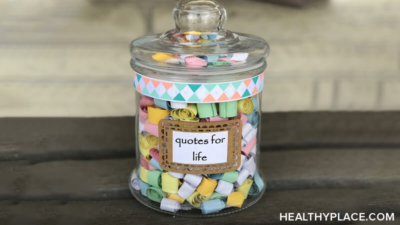 Create A Positivity Jar To Remember Good Times Healthyplace