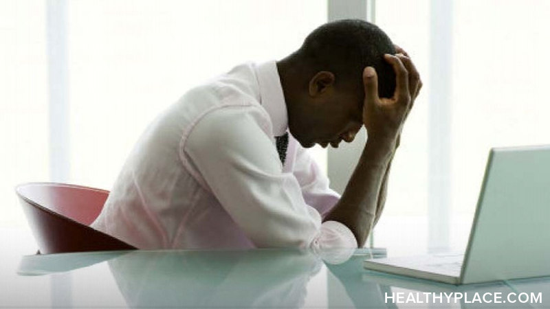 Depression from work can be difficult and can make it so you can't do your job. Learn what contributes to job-related depression and what to do about it, on HealthyPlace.