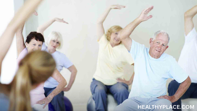 Exercise and activities help both the Alzheimer's patient and the caregiver. Learn what exercises can help relieve stress for both of you at HealthyPlace.