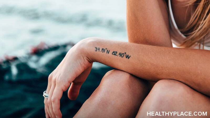 Positivity tattoos are a new trend in the mental wellness sphere, but can they make you happier? Find out at HealthyPlace.