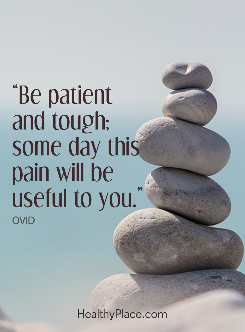 Positivity quotes help us stay strong - Be patient and tough: some day this pain will be useful to you.