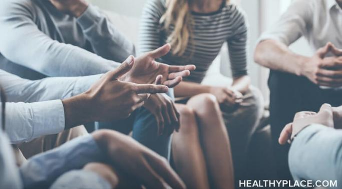 Mental health support groups can prove beneficial for people struggling with low self-esteem. Learn why mental health support groups help at HealthyPlace.