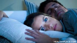 Can't sleep? Whether you can't fall asleep or stay asleep, it's a big problem. Discover things to do and not do when you can't sleep on HealthyPlace.