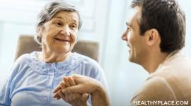 Treating the Alzheimer's patient with respect and making them feel valued are important parts of the Alzheimer's caregiver's job.