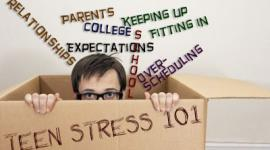 Learn the causes of teenage stress and how to help your teen manage their stress at HealthyPlace.