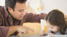 Suggestions for parenting a child with ADHD, creating stability and providing support.
