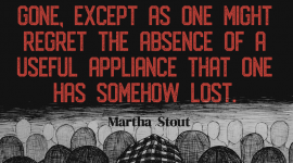 Sociopaths do not care about other people, and so do not miss them when they are alienated or gone, except as one might regret the absence of a useful appliance that one has somehow lost. ― Martha Stout