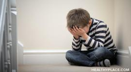 PTSD in children is real. Learn the causes, symptoms, effects and treatment of PTSD in children of any age on HealthyPlace.com