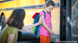 School is a common cause of separation anxiety. Get 3 suggestions on how to ease school-related separation anxiety at HealthyPlace.