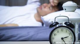 Depression or anxiety often lead to insomnia, which can worsen your mental health. Learn 4 soothing tips to deal with insomnia at HealthyPlace