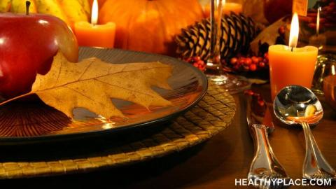 Depression and being thankful: sometimes it feels like the two can't go together. But you can be depressed and thankful at the same time. Learn more at HealthyPlace.