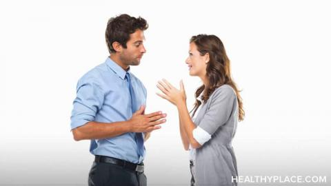 Finding your voice during verbal abuse can be difficult, but it is important. Learn more at HealthyPlace.