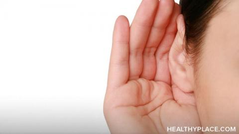 Although hearing voices in DID can be scary and alarming, it is actually quite common. Learn two ways alters cause us to hear voices at HealthyPlace.