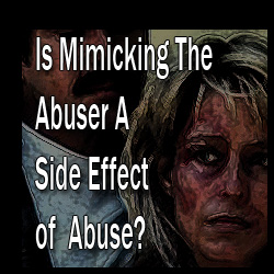 Where do we draw the line between defending ourselves and becoming an abuser? The cycle of abuse takes two participants. When will you stop participating?