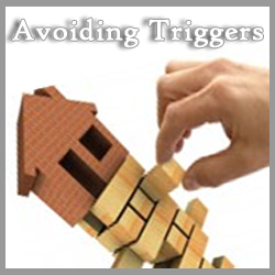 In mental health recovery you learn to avoid triggers. Avoiding triggers is important to stability and improvement. How do you avoid triggers? Read this.