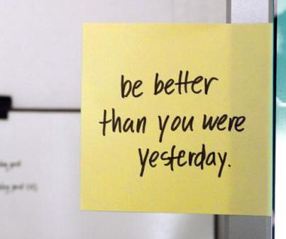 Learn how improve your confidence, reach your goals using a post-it note system. Works well for people dealing with fear of failure.