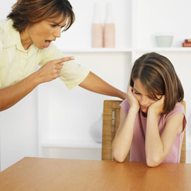 Constantly saying negative things to your child hurts their self-esteem