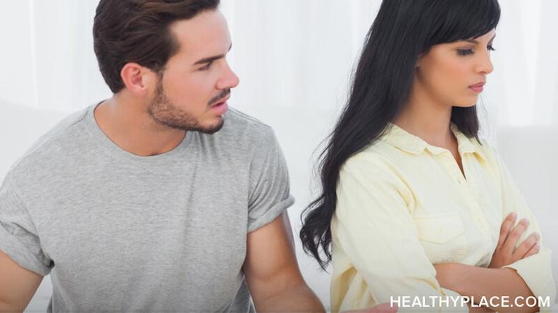 what to do when bipolar partner ignores you