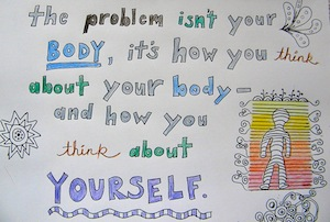 In eating disorder recovery, your body may be changing. How do you deal with body image and fighting negative body thoughts.