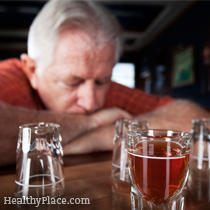 People don't think of their grandparents binge drinking but a recent survey shows that alcohol bingeing in the elderly is surprisingly common.