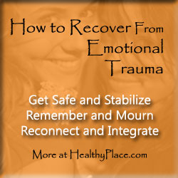Do you know how to recover from emotional trauma? Does anyone? Well, yeah, someone knows.Find out how to recover from emotional traumas. Read this.