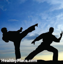 Martial arts can be a mental illness therapy. Mental illness and martial arts, together, can be positive. Read about how martial arts helps mental illness.