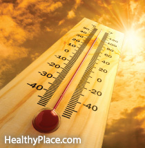 If you're taking meds for a mental illness, the heat can negatively affect your illness and your body. Find out more - don't be caught unaware. Read this.