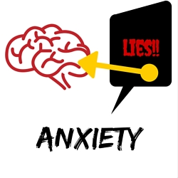 Anxiety tells you lies that race through your brain until they feel like the truth. Recognizing anxiety's lies is important. Do these lies sound familiar?