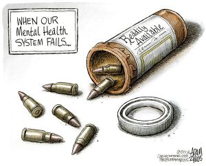 While gun violence perpetrators may be mentally unwell, that doesn't mean they have a diagnosable mental illness. Why does the distinction matter? Read this.