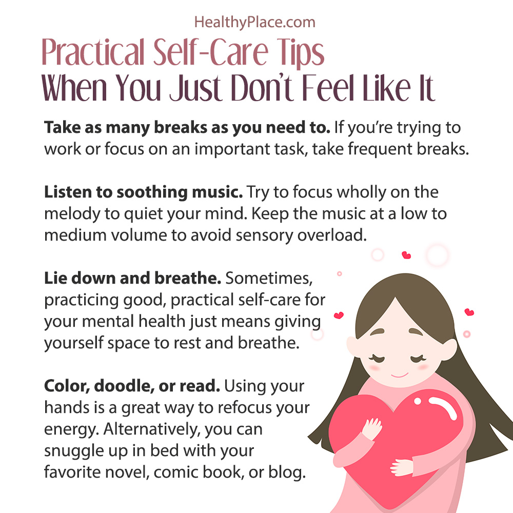 Practical Self-Care Tips for Mental Illness | HealthyPlace