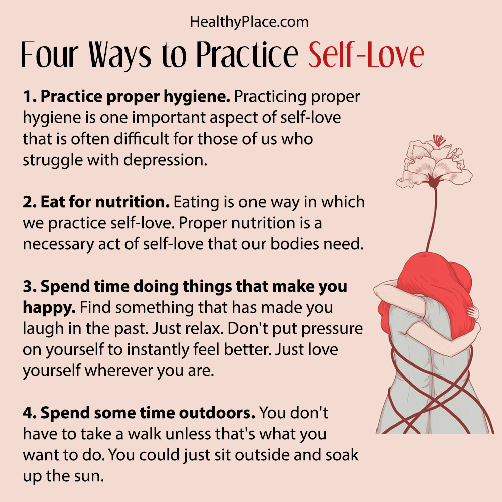 Easy Ways To Practice Self-Love On Difficult Depression